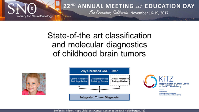 State-of-the-art Classification and Molecular Diagnostics of Childhood Brain Tumors