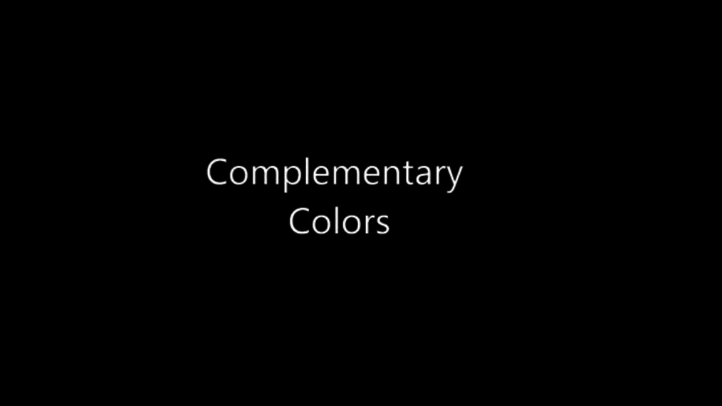 Complementary Colors.mp4