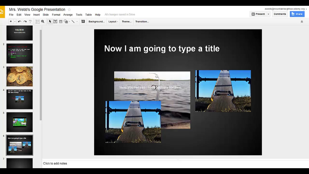 Google Presentations - Saving and coming back to your presentation later.mp4