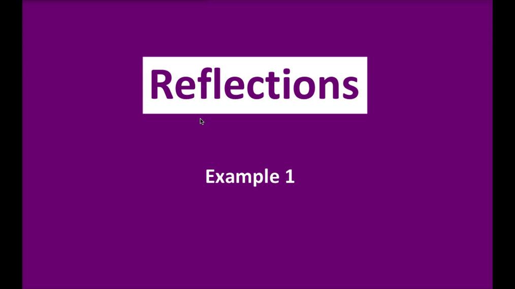 Math 8 Q3 NEW - Reflections E1.mp4
