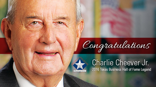 Charlie Cheever Texas Business Hall of Fame Bio Video