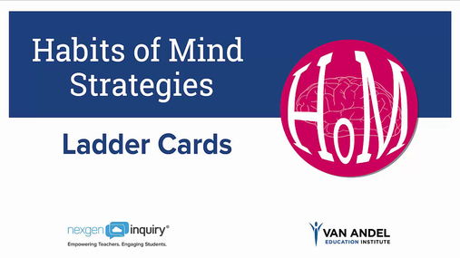 Strategy - Habits of Mind Ladder Cards
