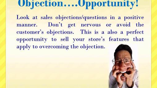 EST - Handling Customer Objections