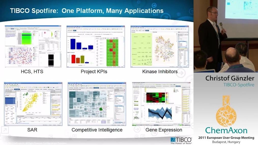 ▶ High speed SAR analysis with TIBCO Spotfire - Christof Gänzler