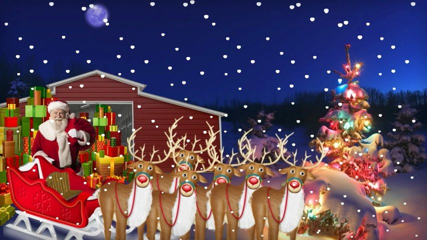 Create a personalised Christmas Animation gift for a special child