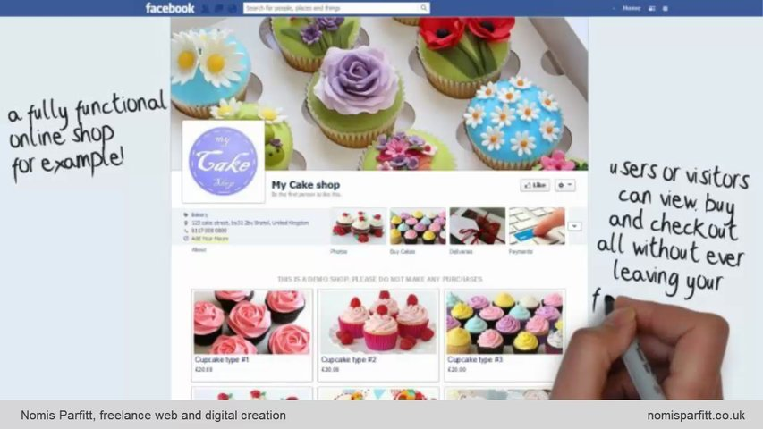Create a unique Facebook mini-commerce site for your business