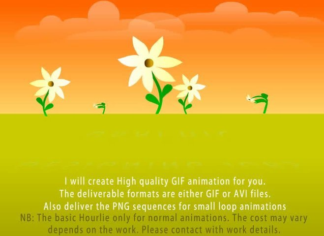 Create animated GIF or AVI - 2D Animation