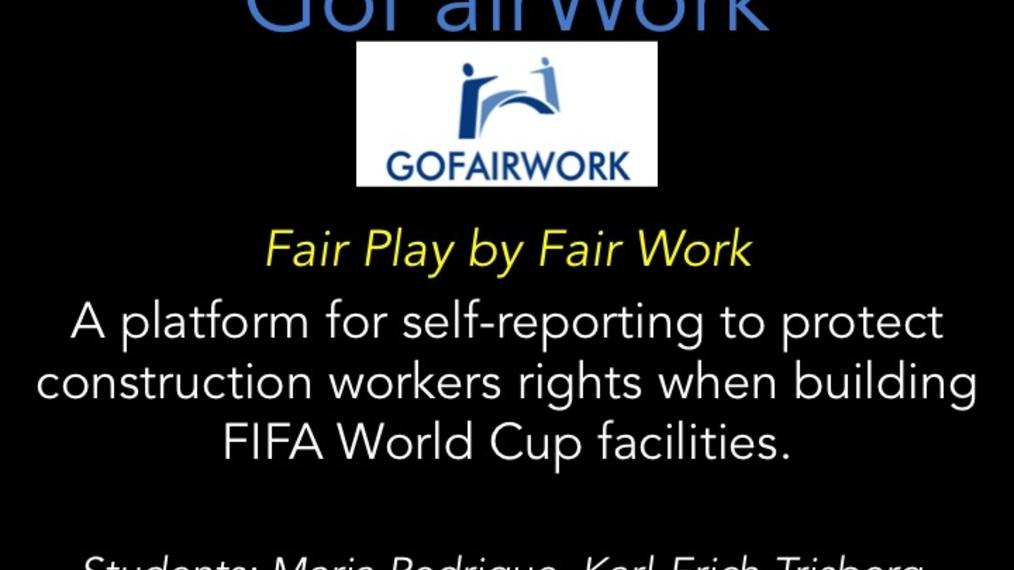 LWOW XC: GoFairWork