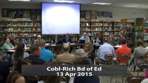 CRCS Board of Ed 13 Apr 2015