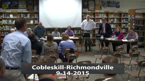 CRCS Board Of Ed 14 Sept 2015