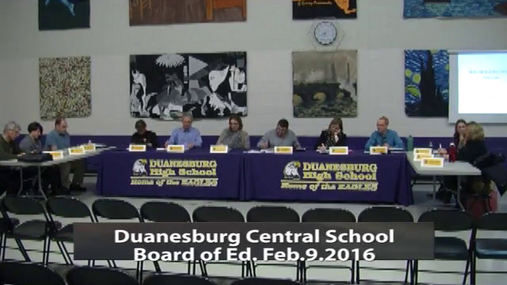DCS Bd of Ed -- Feb 9 2016
