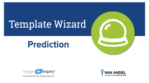 Template Wizard - Prediction
