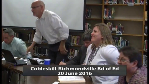 Cobleskill-Richmondville Bd of Ed -- 20 June 2016