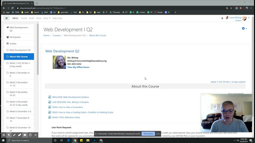 Web Development W2 Intro Video