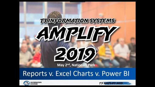 Reports v. Excel Charts v. Power BI: Showing the Benefits and Uses of Each