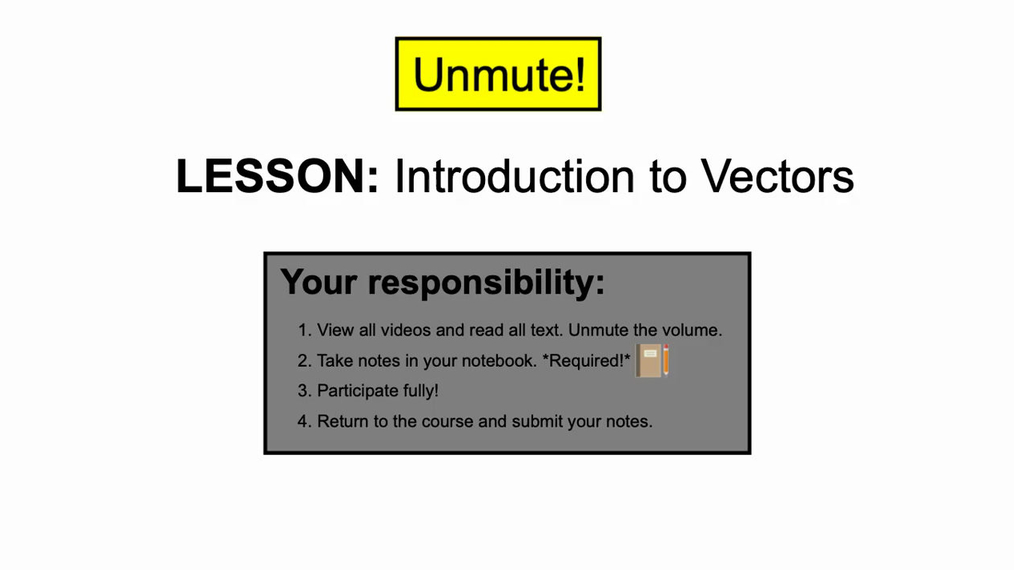 Honors: Intro to Vector - Notebook ready.mp4