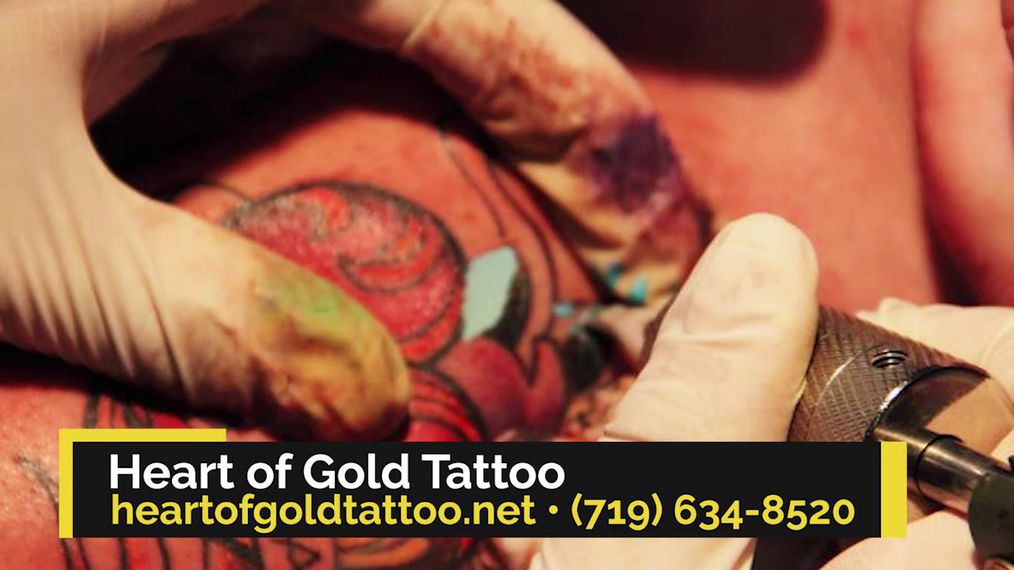 Tattoo Shop in Colorado Springs CO, Heart of Gold Tattoo