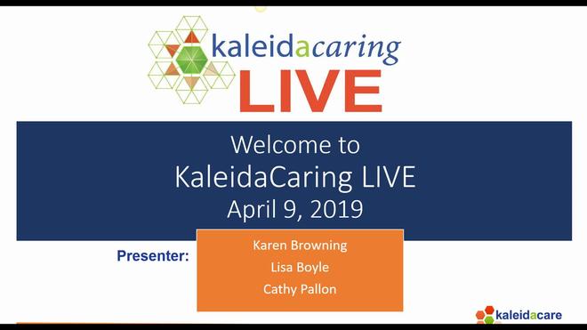 KaleidaCaring LIVE 2019-04