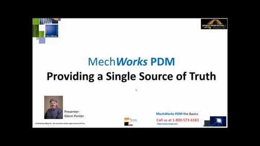 MechWorks PDM for SolidWorks Tutorial - Introduction Demo