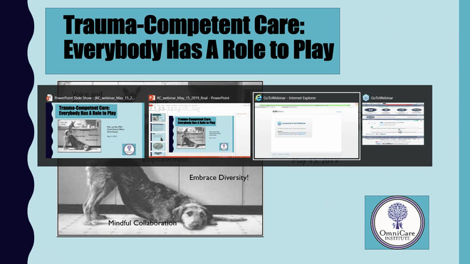 Trauma Competent Care: Everybody has a Role to Play