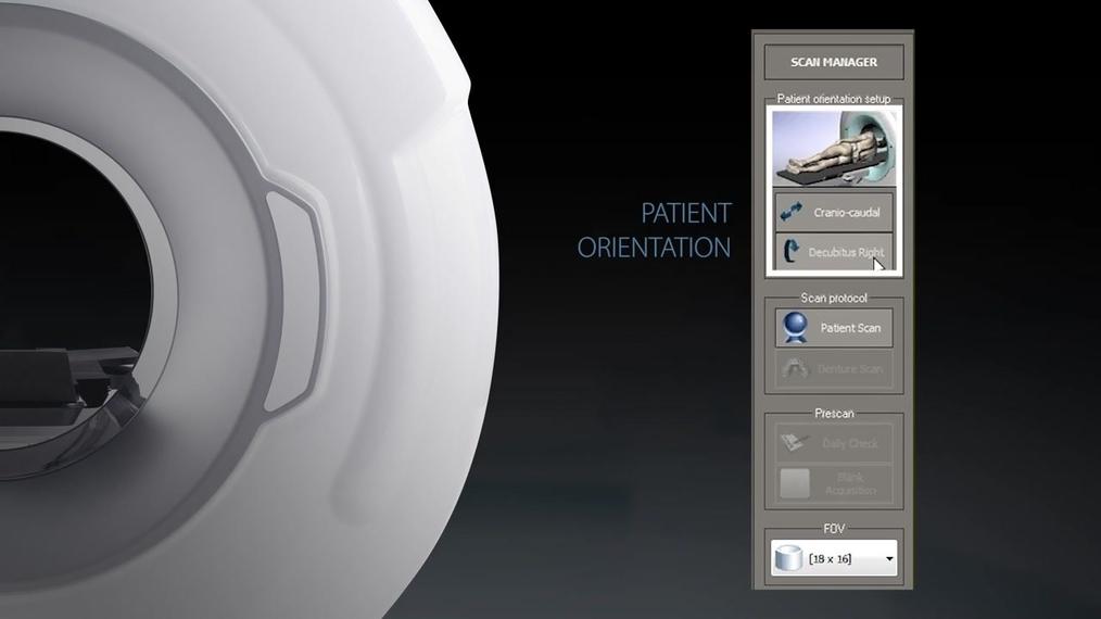 NewTom 5G XL - Ray2D Positioning