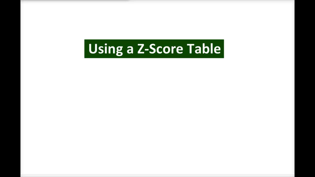 Intro Stats_ Using a Z-Score Table (1 of 3).mp4
