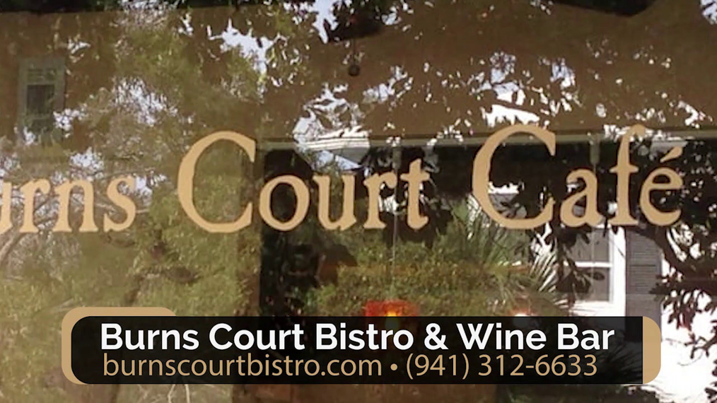 European Restaurant in Sarasota FL, Burns Court Bistro & Wine Bar