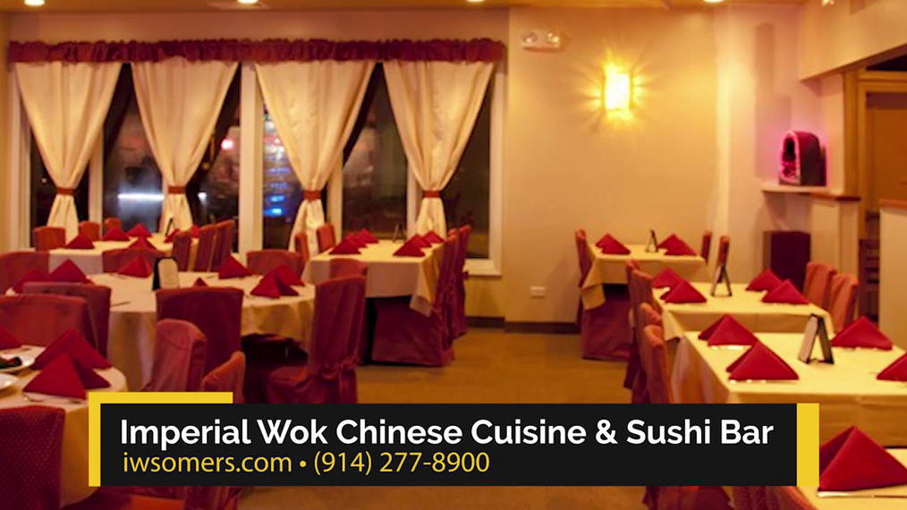 Chinese Cuisine  in Somers NY, Imperial Wok Chinese Cuisine & Sushi Bar