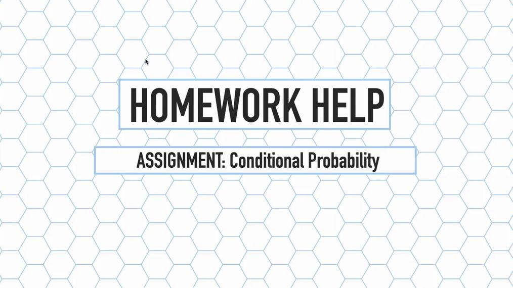 Intro Stats Q4 Conditional Probability HH.mp4