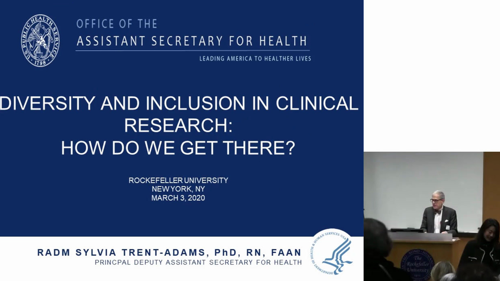 The Beatrice Renfield Lecture in Research Nursing: Diversity and Inclusion in Clinical Research