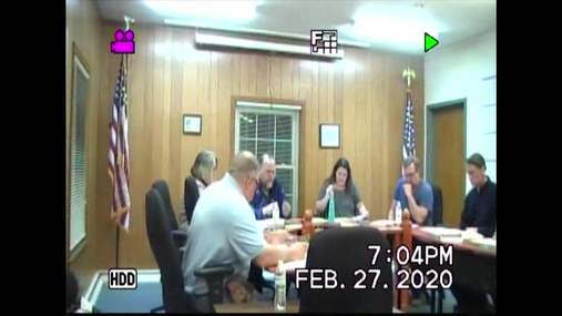 Duanesburg Town Bd -- 27 Feb 2020
