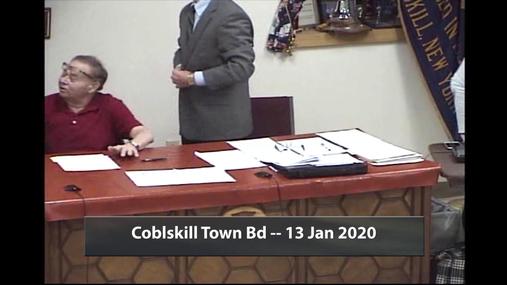 Cobleskill Town Bd -- 13 Jan 2020