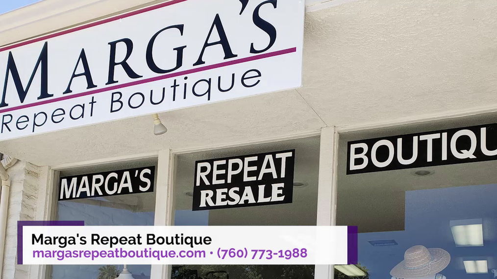 Womens Consignment in Palm Desert CA, Marga's Repeat Boutique