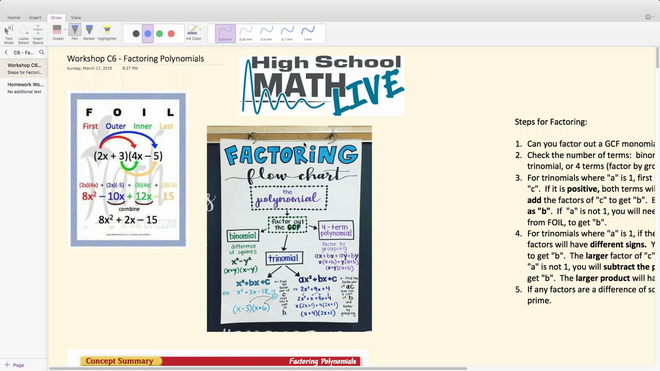 Brush Up Math Workshop C6 - Factoring Polynimials.mp4