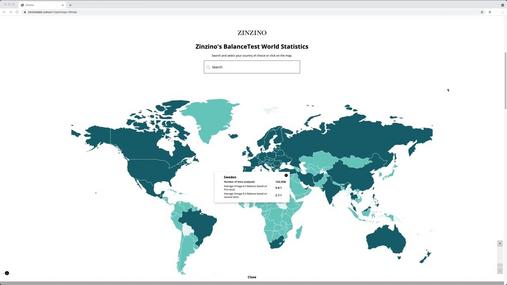 Tour the BalanceTest world map