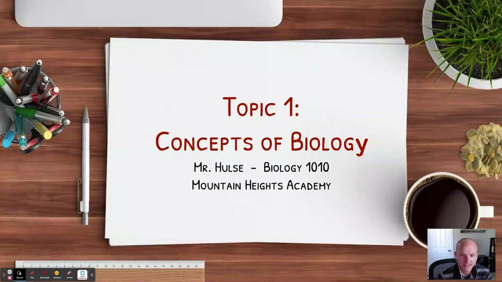 Topic 1: Concepts of Biology