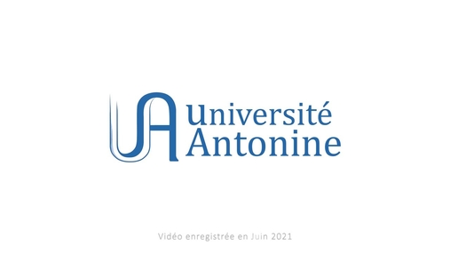 Université Antonine - Liban v2