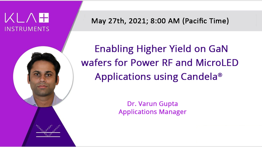 Enabling higher yield on GaN wafers for Power, RF, and MicroLED