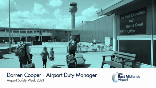 Airport Safety Week 2021 - Airport Duty Manager