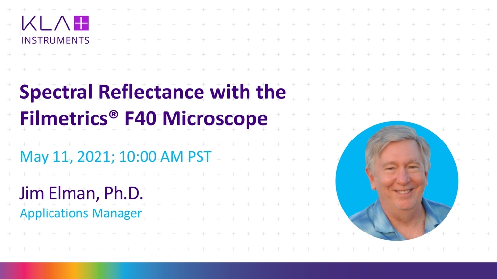 Spectral Reflectance with the F40 Microscope
