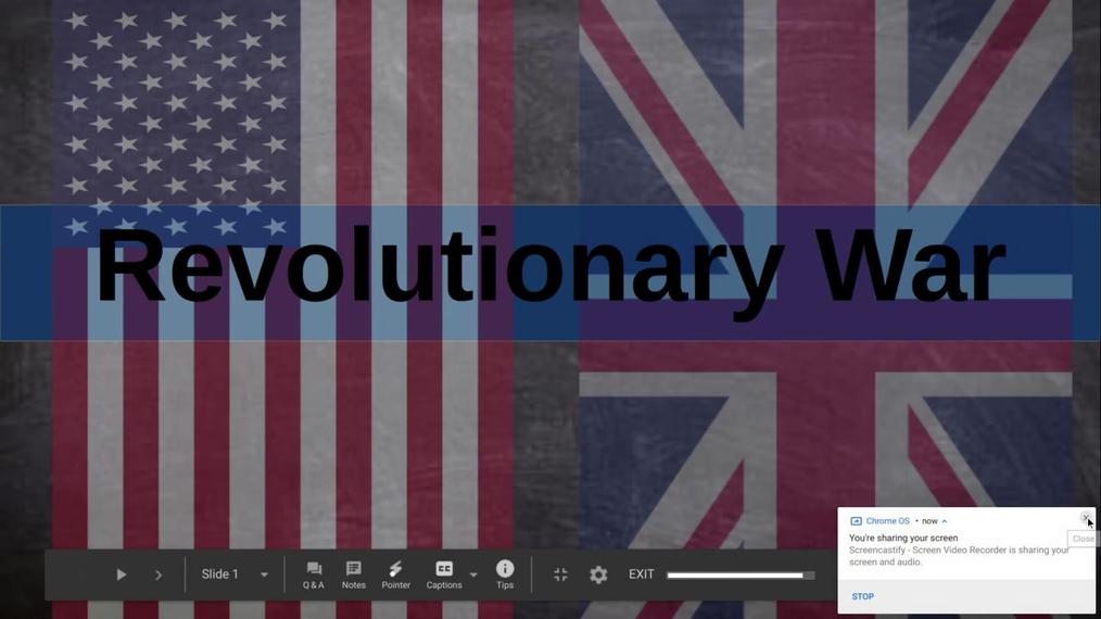 Main Battles of Revolutionary War