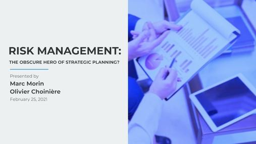 PPX WEBINAR - RISK MANAGEMENT