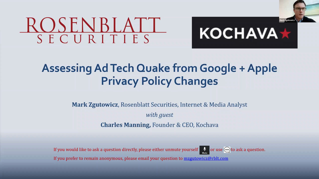 Assessing Ad Tech Quake from Google + Apple Privacy Policy Changes