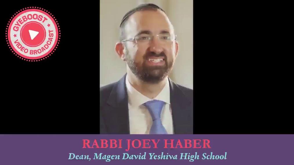 716 - Rabbi Joey Haber - Eres mejor que eso.