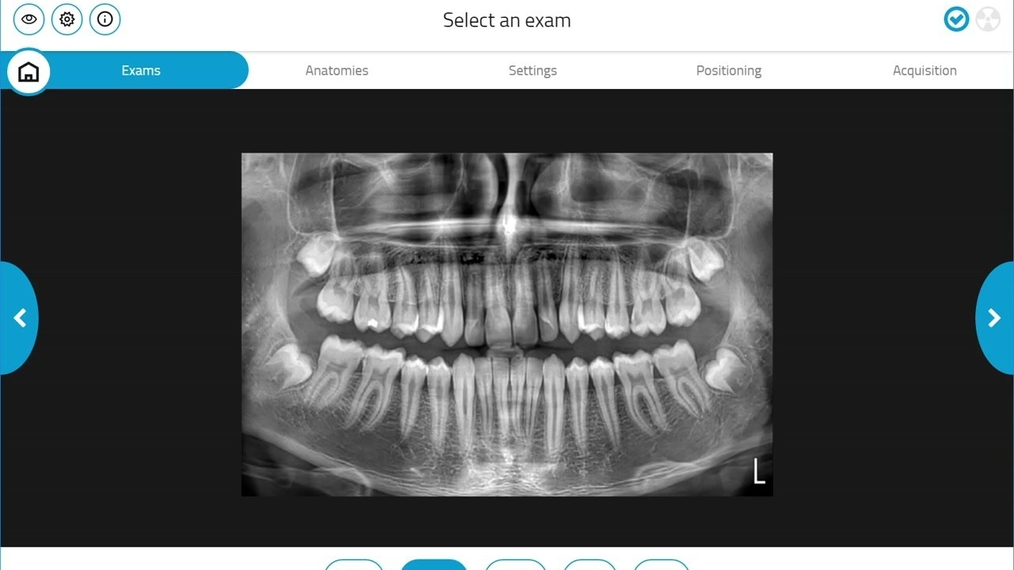 GiANO HR 2D Dentition Acquisition
