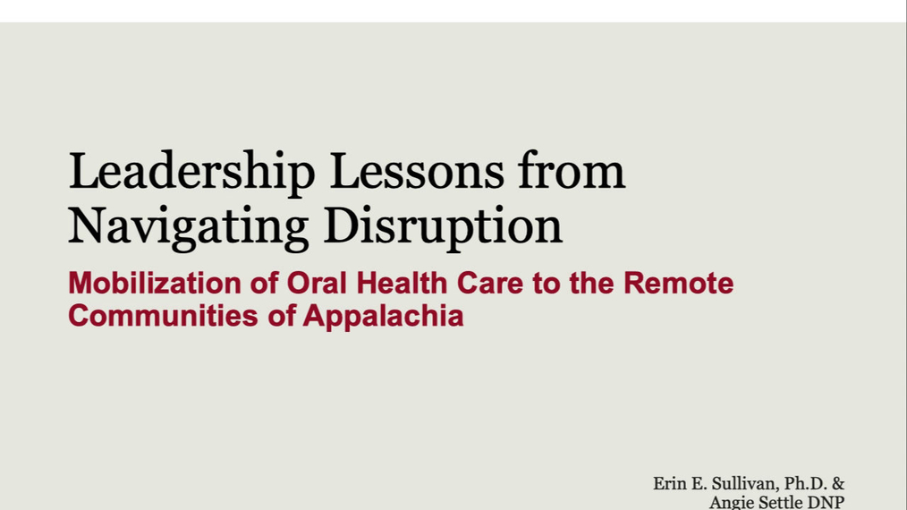Office Hours Session 1: Leadership Lessons fromNavigating Disruption