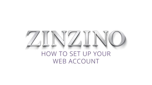 8. Setting up your Web Account