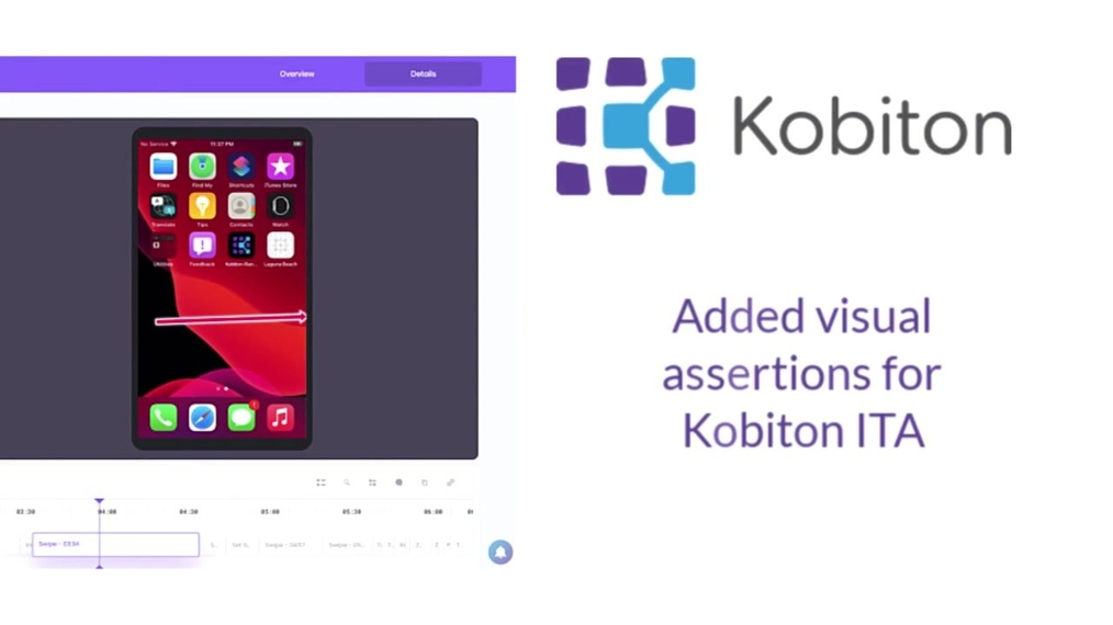 Added Visual Assertions - Kobiton