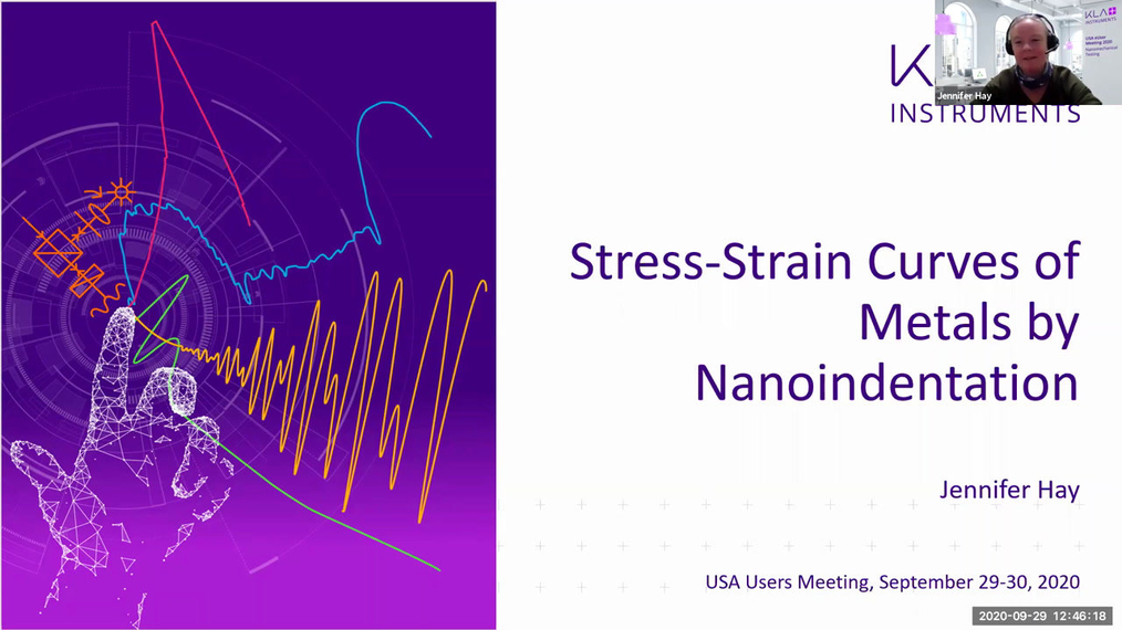 Stress-Strain Curves of Metal by Nanoindentation