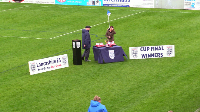 13694 Lancashire FA U12 Girls Youth Cup Final Euxton Girls (YEL) v Preston NE WJFC (WHT) Presentations 10OCT20.mp4